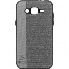 Силикон Inavi Samsung J310/J3 (2016) (серый)