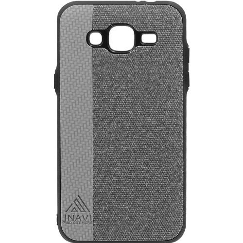 Силиконовый чехол Inavi Samsung J310/J3 (2016) (серый)