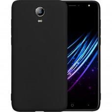 Силиконовый чехол Graphite Doogee X7 Pro (черный)