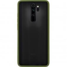 Накладка Totu Gingle Series Xiaomi Redmi Note 8 Pro (Тёмно-зелёный)
