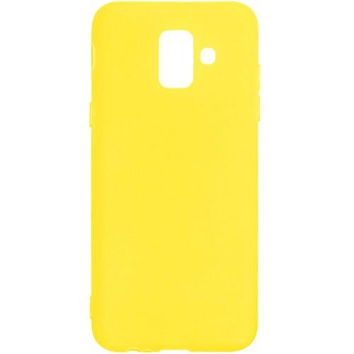 Силикон iNavi Color Samsung Galaxy A6 (2018) A600 (желтый)