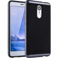 Силиконовый чехол iPaky Carbon Case Xiaomi Redmi Note 3 (Синий)