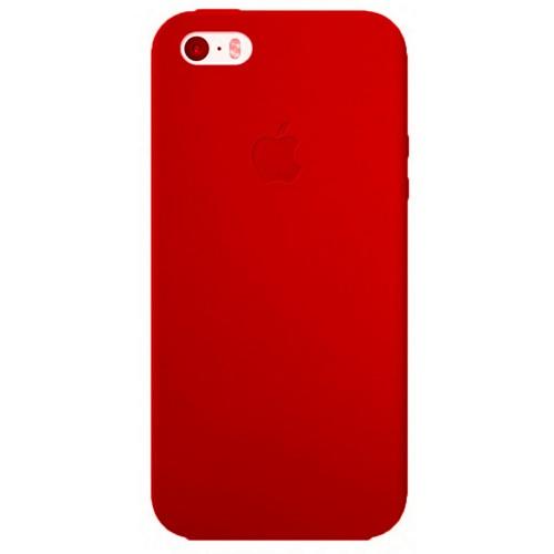 Силиконовый чехол Super Slim iPhone 5 (красный)