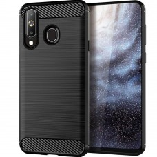 Силикон Polished Carbon Huawei Y7 (2019) (черный)