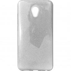 Силикон Glitter Meizu M5 Note (Серебряный)