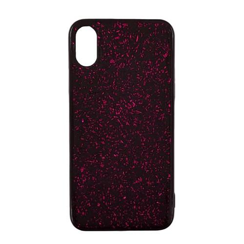 Накладка Confetti Apple iPhone XS Max (Розовый)