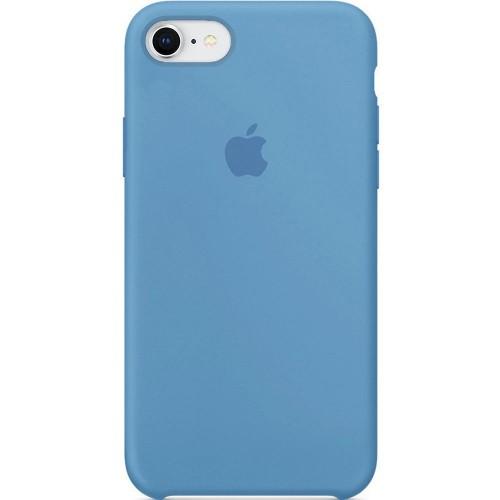 Чехол Silicone Case Apple iPhone 7 / 8 (Demin Blue)