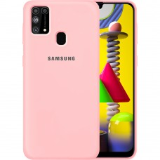 Силикон Original Case Samsung Galaxy M31 (2020) (Розовый)