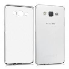 Силиконовый чехол WS Samsung Galaxy A5 (2015) A500 (Прозрачный)