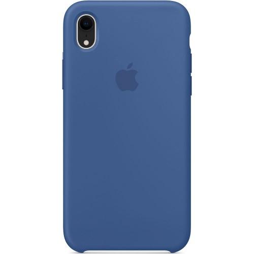 Чехол Silicone Case Apple iPhone XR (Delft Blue)