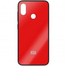 Накладка Glass Case Xiaomi Mi8 (красный)