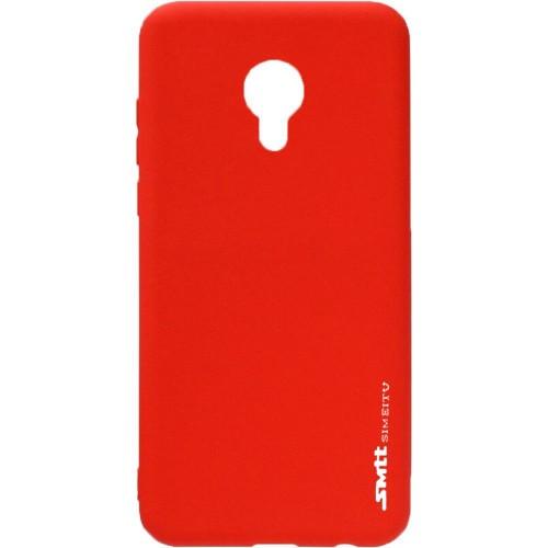 Силикон SMTT Meizu M3 Note (Красный)