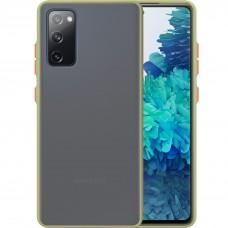 Накладка Totu Gingle Series Samsung Galaxy S20 FE (Тёмно-зелёный)