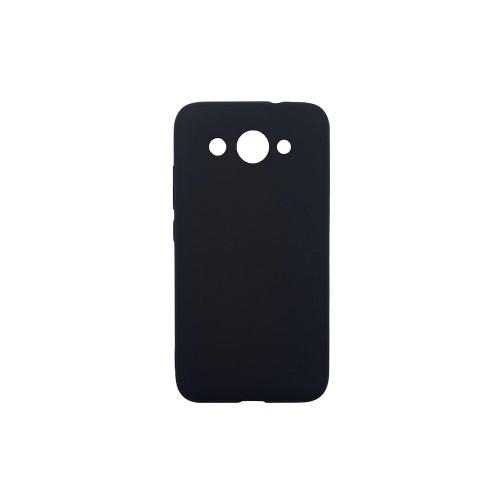 Силиконовый чехол Graphite Huawei Y3 (2017) (черный)