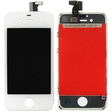 Дисплейный модуль Apple iPhone 4G (White) (High Copy)