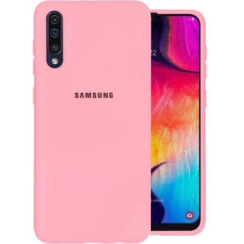 Силикон Original 360 Case Logo Samsung Galaxy A30s / A50 / A50s (2019) (Розовый)..