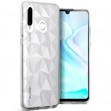 Силиконовый чехол Prism Case Huawei P30 Lite (Прозрачный)