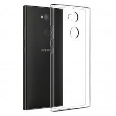Силиконовый чехол WS Sony XA 2 (прозрачный)