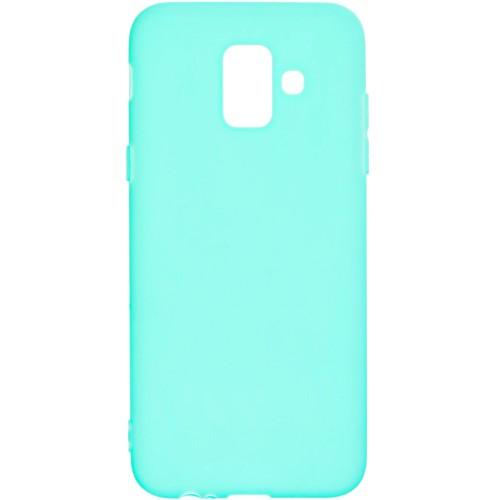 Силиконовый чехол iNavi Color Samsung Galaxy A6 (2018) A600 (Бирюзовый)