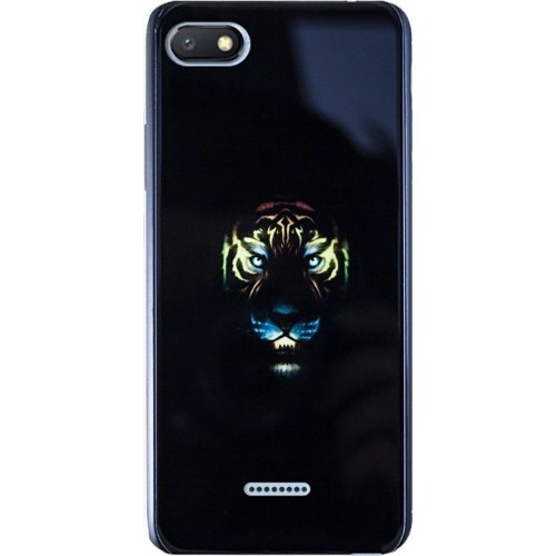 Накладка Luminous Glass Case Xiaomi Redmi 6A (Tiger)