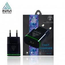 СЗУ-адаптер iNavi MicroUSB-кабель + USB / 2A (FC-10) (Чёрный)