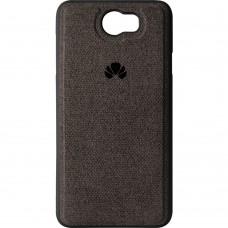 Силикон Textile Huawei Y5-2 (Чёрный)