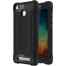 Чехол Armor Case Xiaomi Redmi 3s / 3 Pro (чёрный)