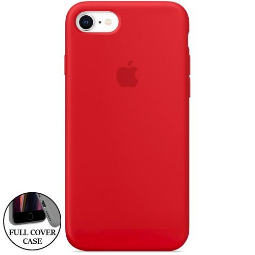 Силикон Original Round Case Apple iPhone 7 / 8 (05) Product RED