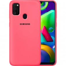 Силикон Original Case Samsung Galaxy M21 (2020) (Клубничный)