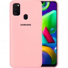 Силикон Original Case Samsung Galaxy M21 (2020) (Розовый)