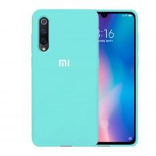 Силикон Original Case Xiaomi Mi9 (Бирюзовый)