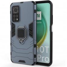 Бронь-чехол Ring Armor Case Xiaomi Mi 10T / Mi 10T Pro (Пыльная бирюза)