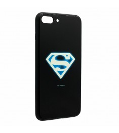 Накладка Luminous Glass Case Apple iPhone 7 / 8 (Superman)