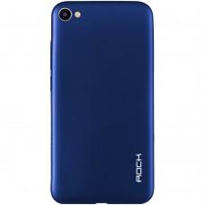 Силиконовый чехол Rock Matte Meizu U20 (Blue)