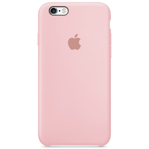 Силиконовый чехол Original Case Apple iPhone 6 / 6s (08) Pink Sand