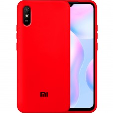 Силикон Original Case Xiaomi Redmi 9A (Красный)