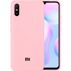 Силикон Original Case Xiaomi Redmi 9A (Розовый)