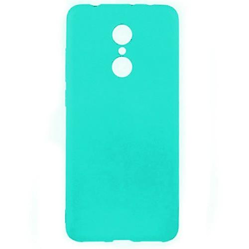 Силиконовый чехол Multicolor Xiaomi Redmi Note 4x (бирюзовый)