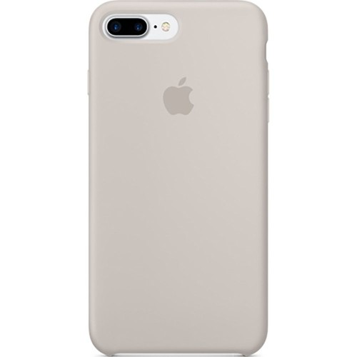 Чехол Silicone Case Apple iPhone 7 Plus / 8 Plus (Stone)
