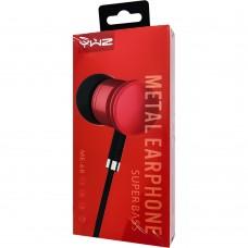 Наушники Sonic Sound 1068 / ME68 (Red)