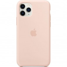 Чехол Silicone Case Apple iPhone 11 Pro Max (Pink Sand)