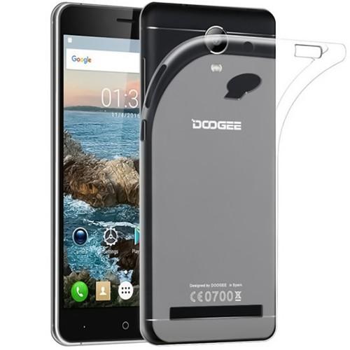 Силиконовый чехол WS Doogee X7 Pro (прозрачный)