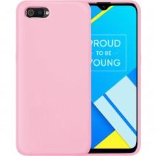 Силикон Original Case Xiaomi Realme C2 / A1R (Розовый)
