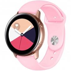 Ремешок Silicone Band Samsung Gear S2 / S3 20mm (Pink) Gadgik