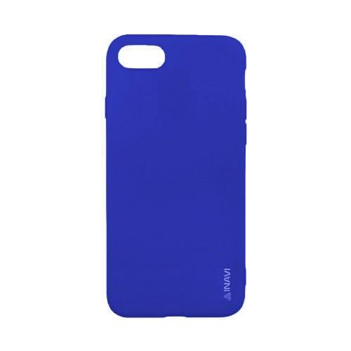 Силиконовый чехол iNavi Color Apple iPhone 7 / 8 (темно-синий)