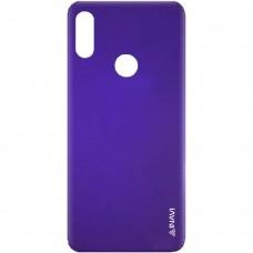Силиконовый чехол iNavi Color Huawei Y6 (2019) / Honor 8A (фиолетовый)