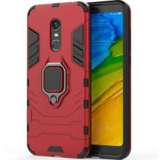 Бронь-чехол Ring Armor Case Xiaomi Redmi 5 Plus (Красный)