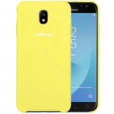 Силикон Original Case Samsung Galaxy J5 (2017) J530 (Лимонный)