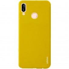 Силиконовый чехол iNavi Color Huawei P20 Lite (жёлтый)
