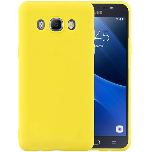 Силикон iNavi Color Samsung Galaxy J7 (2016) J710 (желтый)